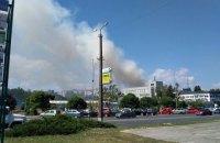В Броварах горела жилая пятиэтажка (обновлено)