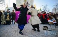 На Софійській площі в Києві відсвяткували Різдво
