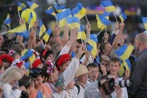 Независимость поддерживает 61% украинцев