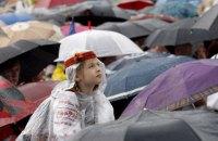 В воскресенье в Киеве обещают кратковременные дожди