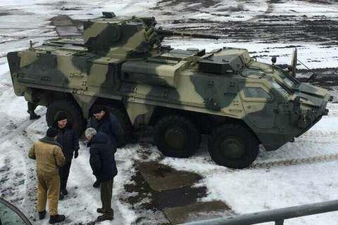 Украинские БТР оснастят немецкими двигателями