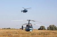 Над Черным морем прошли учения морской авиации ВСУ