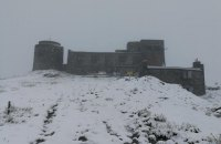 Через сніг у Карпатах евакуюють дитячий наметовий табір (оновлено)