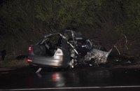 В ДТП во Львовской области погибли 3 человека, двое ранены