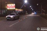 В Белой Церкви автомобиль патрульной полиции сбил мужчину на переходе