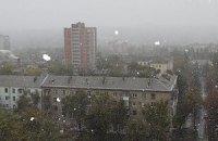 В Донецке и Симферополе выпал первый снег