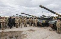 Порошенко передал ВСУ 62 танка и другую технику