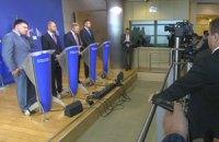 Онлайн-трансляция встречи лидеров оппозиции с еврокомиссаром Фюле