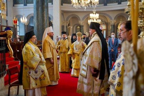 Экзарха Вселенского патриарха в Украине рукоположили в епископы