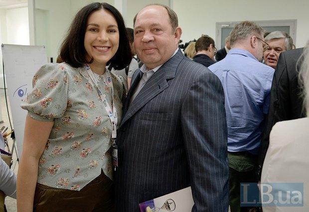 Соня Кошкина и бизнесмен Виталий Гайдук