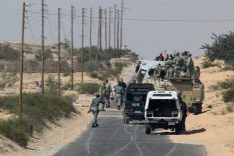 У Єгипті 8 військових загинули під час антитерористичної операції