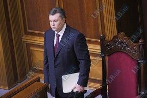 Рада не захотела тревожить Януковича резолюциями ПАСЕ
