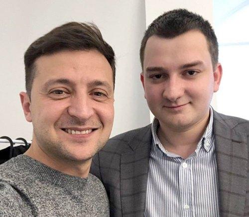 Владимир Зеленский и Михаил Ананченко