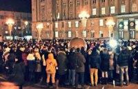 У різних містах України вшанували пам'ять Кузьми Скрябіна