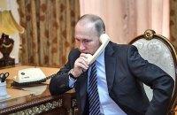 Меркель і Олланд провели телефонну розмову з Путіним