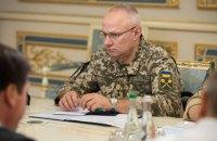 Зеленский передумал отправлять начальника Генштаба на минские переговоры