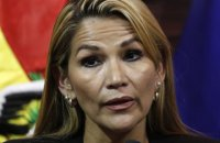 У Болівії затримали колишню тимчасову президентку країни Жанін Аньєз