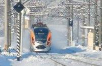 """Поїзд Hyundai """"Харків - Київ"""" зламався в дорозі"""
