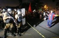 В Бразилии в столкновениях с полицией пострадали 9 человек, протестующих против ареста бывшего президента