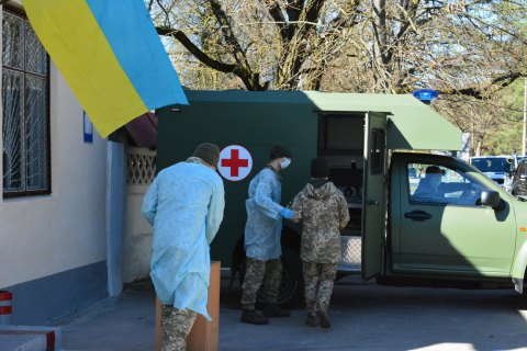 У Збройних силах за добу виявили 91 випадок коронавірусу, ще один військовий помер