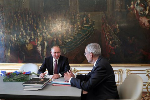 """Президент Австрії підтримав """"Північний потік - 2"""""""