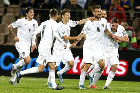 Футбольна збірна Італії побила національний рекорд 80-річної давності