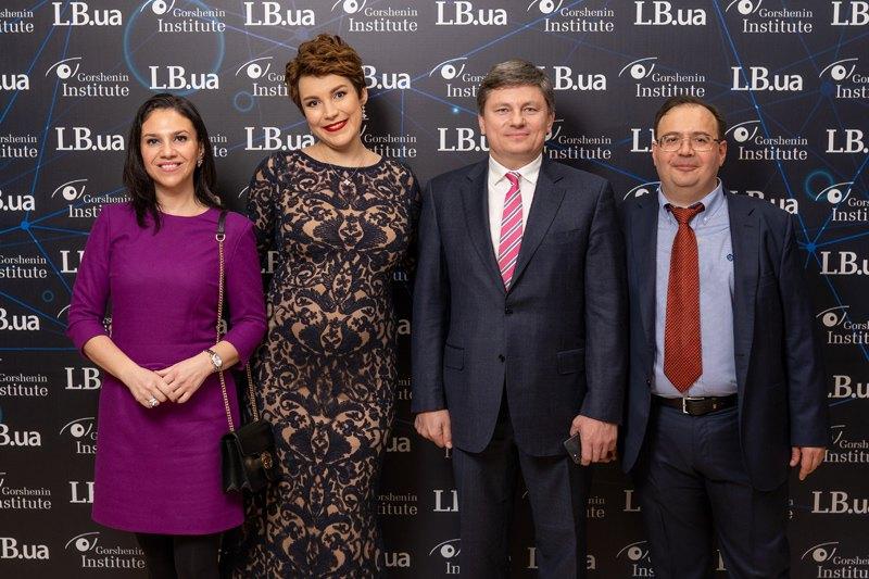 Глава фракции БПП Артур Герасимов и Наталия Бухалова