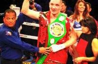 Украинец Шабранский завоевал первый титул на профиринге