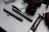 """Полицейские изъяли у жителя Львова """"стреляющие ручки"""" и пистолет"""