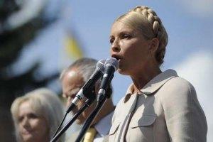 Тимошенко должна участвовать в президентских выборах, - оппозиция