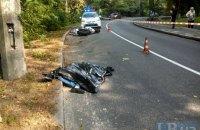 В Киеве в Голосеево в ДТП погиб мотоциклист