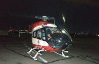 Постраждалу у ДТП на трасі Київ-Чоп 13-річну дівчинку гелікоптером доправили до Києва