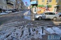 В Киеве завтра обещают небольшой снег и гололедицу на дорогах