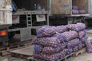 В Одесской области задержали молдаванина, перевозившего 5 тонн контрабандной картошки