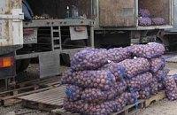 Украина пытается экспортировать рекордный урожай картошки