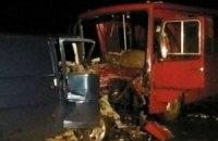 Автобус с демобилизированными попал в ДТП в Полтавской области