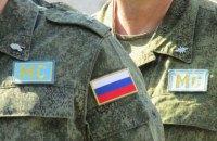 Группа российских военных пройдет на параде к 9 Мая в Приднестровье