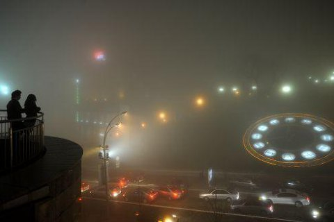 УКиєві небезпечний рівень забруднення повітря: де і чому