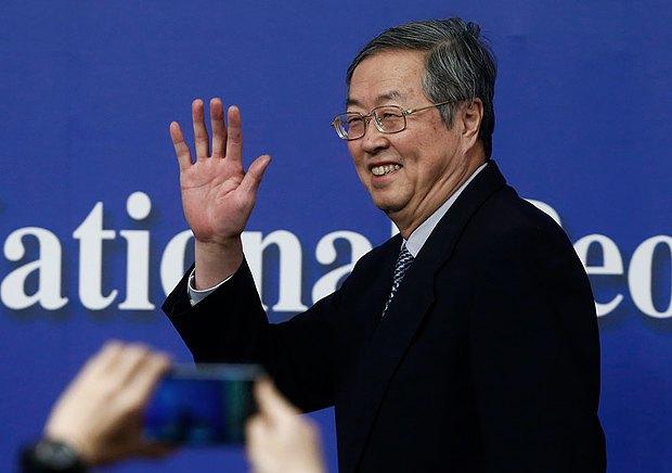 Чжоу Сяочуань, глава Народного банка Китая