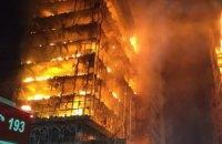 В бразильском Сан-Паулу во время пожара рухнул 26-этажный дом