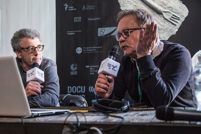 Дискуссия с польским режиссером Павелом Лозиньским на Docudays UA