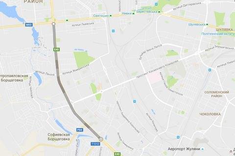 Киев решил отремонтировать Окружную дорогу