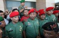 Индонезийские спецназовцы попали в тюрьму за убийство заключенных