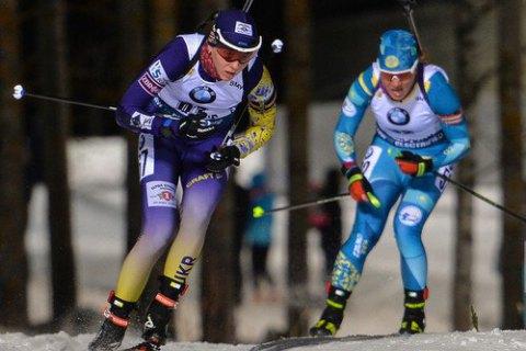 Україна стала п'ятою в першій естафеті сезону в Кубку світу з біатлону