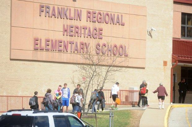 Школа Franklin Regional High School