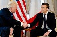 Макрон і Трамп обговорили ситуацію в Україні