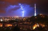 Двоє людей загинули від удару блискавки у Львові