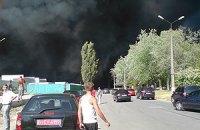 В Броварах горит новостройка на 27 тыс. кв. м
