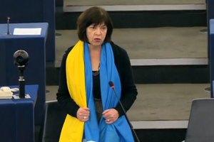 Евродепутат Хармс призвала ЕС ввести санкции против украинских чиновников
