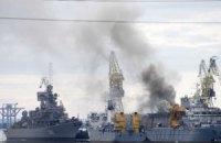В России горела атомная подлодка